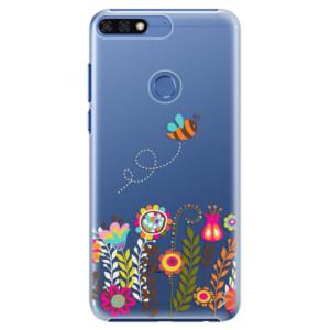 Plastové pouzdro iSaprio Včelka Pája 01 na mobil Honor 7C