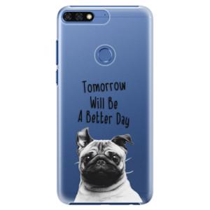 Plastové pouzdro iSaprio Better Day 01 na mobil Honor 7C
