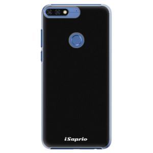 Plastové pouzdro iSaprio 4Pure černé na mobil Honor 7C