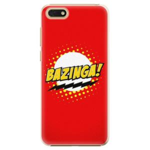 Plastové pouzdro iSaprio Bazinga 01 na mobil Honor 7S