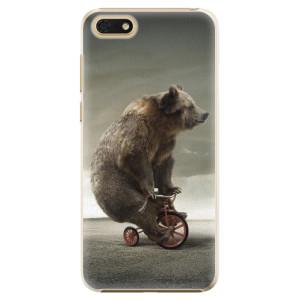 Plastové pouzdro iSaprio Medvěd 01 na mobil Honor 7S
