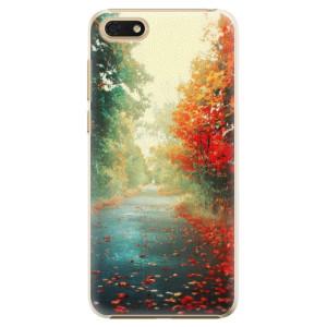Plastové pouzdro iSaprio Podzim 03 na mobil Honor 7S
