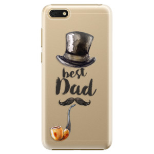 Plastové pouzdro iSaprio Best Dad na mobil Honor 7S