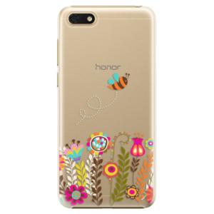 Plastové pouzdro iSaprio Včelka Pája 01 na mobil Honor 7S