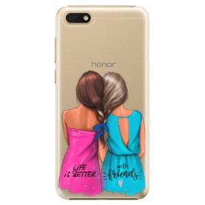 Plastové pouzdro iSaprio Best Friends na mobil Honor 7S
