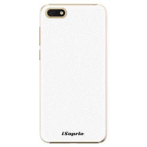 Plastové pouzdro iSaprio 4Pure bílé na mobil Honor 7S