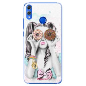 Plastové pouzdro iSaprio Donutky Očiska 10 na mobil Honor 8X