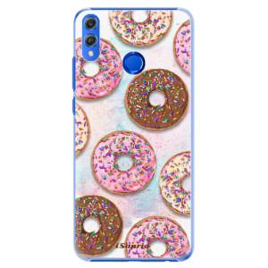Plastové pouzdro iSaprio Donutky Všude 11 na mobil Honor 8X