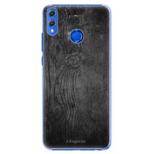 Plastové pouzdro iSaprio Black Wood 13 na mobil Honor 8X