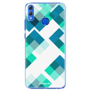 Plastové pouzdro iSaprio Abstract Squares 11 na mobil Honor 8X