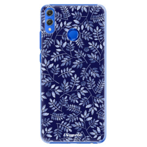 Plastové pouzdro iSaprio Blue Leaves 05 na mobil Honor 8X