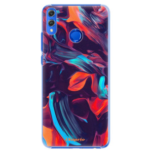 Plastové pouzdro iSaprio Barevný mramor 19 na mobil Honor 8X