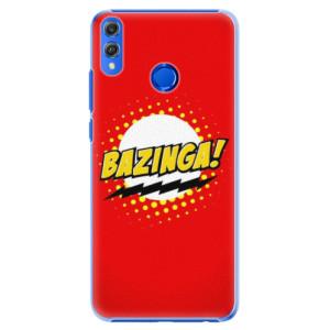 Plastové pouzdro iSaprio Bazinga 01 na mobil Honor 8X