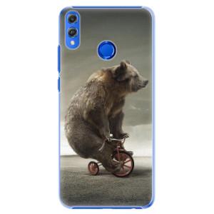 Plastové pouzdro iSaprio Medvěd 01 na mobil Honor 8X