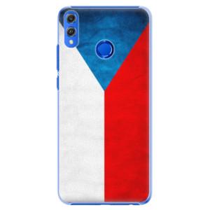 Plastové pouzdro iSaprio Česká Vlajka na mobil Honor 8X