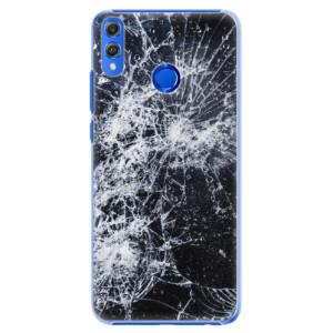 Plastové pouzdro iSaprio Praskliny na mobil Honor 8X