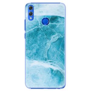Plastové pouzdro iSaprio Blue Marble na mobil Honor 8X