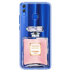 Plastové pouzdro iSaprio Chanel Rose na mobil Honor 8X