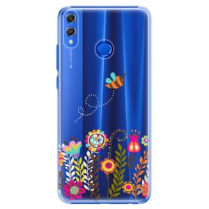 Plastové pouzdro iSaprio Včelka Pája 01 na mobil Honor 8X
