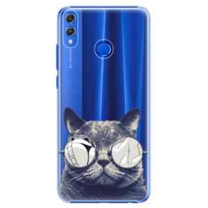 Plastové pouzdro iSaprio Šílená Číča 01 na mobil Honor 8X