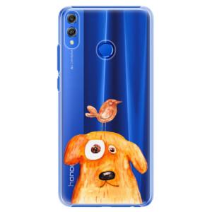 Plastové pouzdro iSaprio Pejsek a Ptáček na mobil Honor 8X