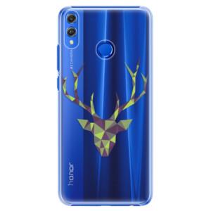 Plastové pouzdro iSaprio Zelený Jelínek na mobil Honor 8X