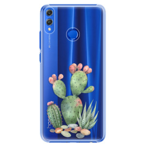 Plastové pouzdro iSaprio Kaktusy 01 na mobil Honor 8X