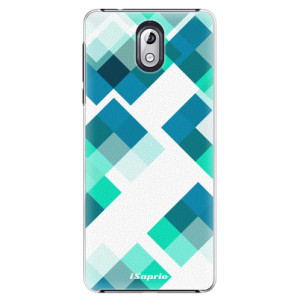 Plastové pouzdro iSaprio Abstract Squares 11 na mobil Nokia 3.1