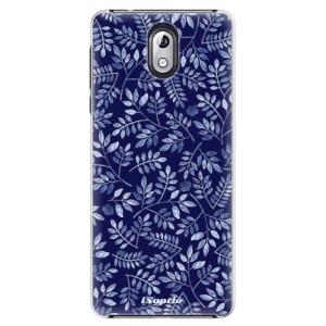 Plastové pouzdro iSaprio Blue Leaves 05 na mobil Nokia 3.1