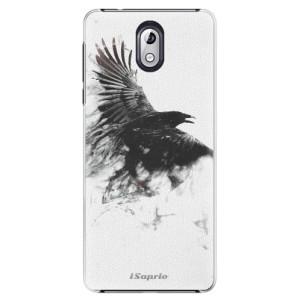 Plastové pouzdro iSaprio Havran 01 na mobil Nokia 3.1