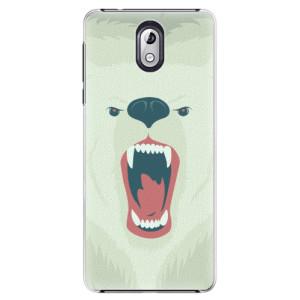 Plastové pouzdro iSaprio Naštvanej Medvěd na mobil Nokia 3.1