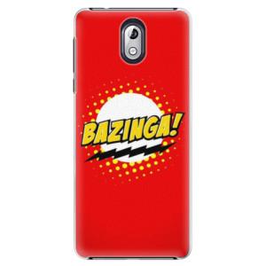 Plastové pouzdro iSaprio Bazinga 01 na mobil Nokia 3.1