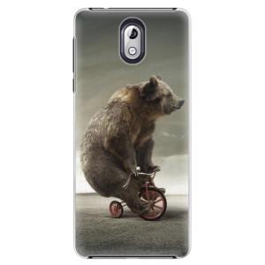 Plastové pouzdro iSaprio Medvěd 01 na mobil Nokia 3.1
