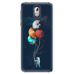 Plastové pouzdro iSaprio Balónky 02 na mobil Nokia 3.1