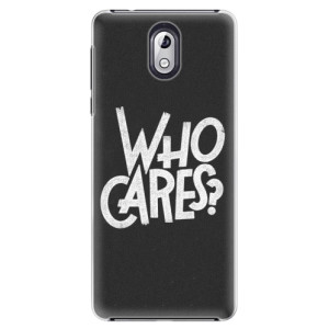 Plastové pouzdro iSaprio Who Cares na mobil Nokia 3.1