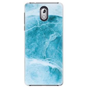 Plastové pouzdro iSaprio Blue Marble na mobil Nokia 3.1