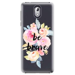 Plastové pouzdro iSaprio Be Brave na mobil Nokia 3.1