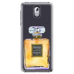 Plastové pouzdro iSaprio Chanel Gold na mobil Nokia 3.1
