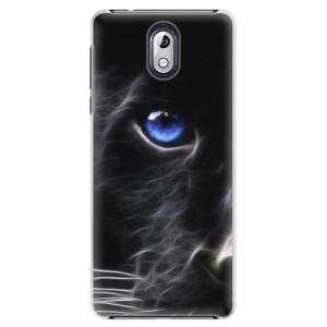 Plastové pouzdro iSaprio Black Puma na mobil Nokia 3.1