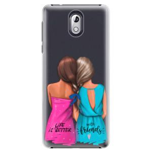 Plastové pouzdro iSaprio Best Friends na mobil Nokia 3.1