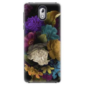 Plastové pouzdro iSaprio Temné Květy na mobil Nokia 3.1