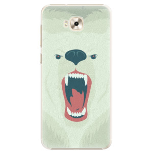 Plastové pouzdro iSaprio Naštvanej Medvěd na mobil Asus ZenFone 4 Selfie ZD553KL