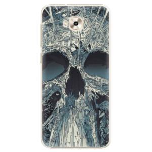 Plastové pouzdro iSaprio Abstract Skull na mobil Asus ZenFone 4 Selfie ZD553KL