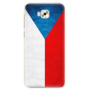 Plastové pouzdro iSaprio Česká Vlajka na mobil Asus ZenFone 4 Selfie ZD553KL