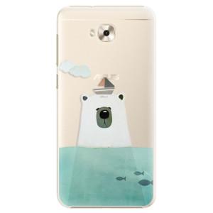 Plastové pouzdro iSaprio Medvěd s Lodí na mobil Asus ZenFone 4 Selfie ZD553KL
