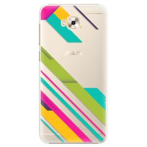 Plastové pouzdro iSaprio Barevné Pruhy 03 na mobil Asus ZenFone 4 Selfie ZD553KL