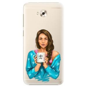 Plastové pouzdro iSaprio Coffee Now Brunetka na mobil Asus ZenFone 4 Selfie ZD553KL