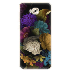 Plastové pouzdro iSaprio Temné Květy na mobil Asus ZenFone 4 Selfie ZD553KL