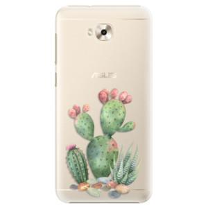 Plastové pouzdro iSaprio Kaktusy 01 na mobil Asus ZenFone 4 Selfie ZD553KL
