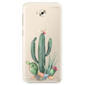 Plastové pouzdro iSaprio Kaktusy 02 na mobil Asus ZenFone 4 Selfie ZD553KL